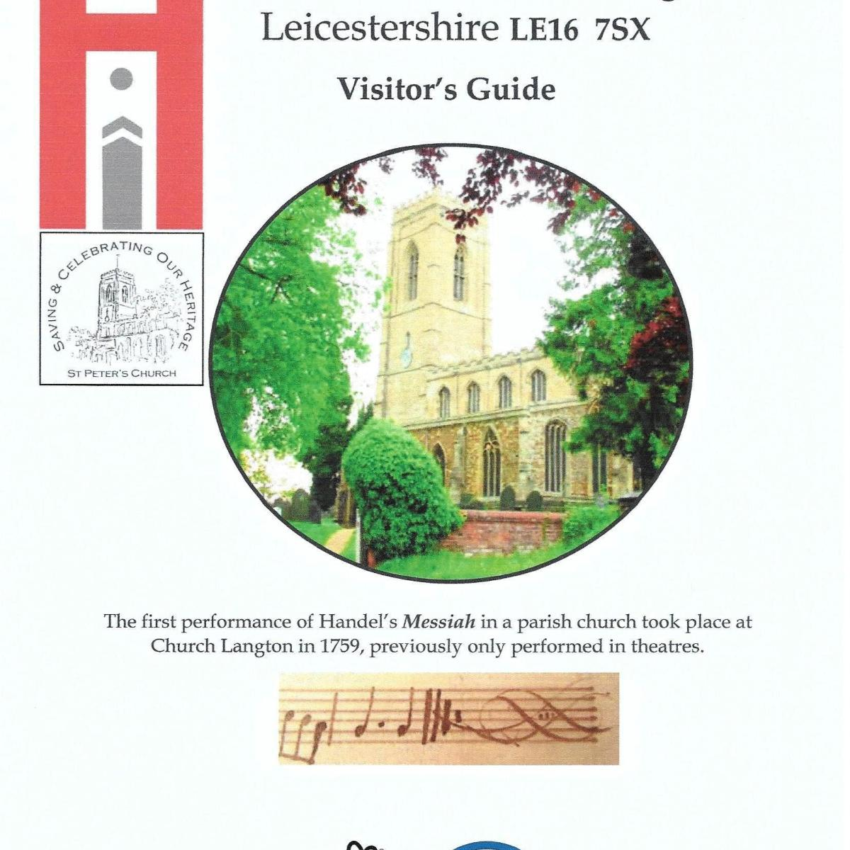Visitor Guide - St Peter's Church, Church Langton, Front Cover