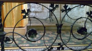 St Peter's: Altar rails