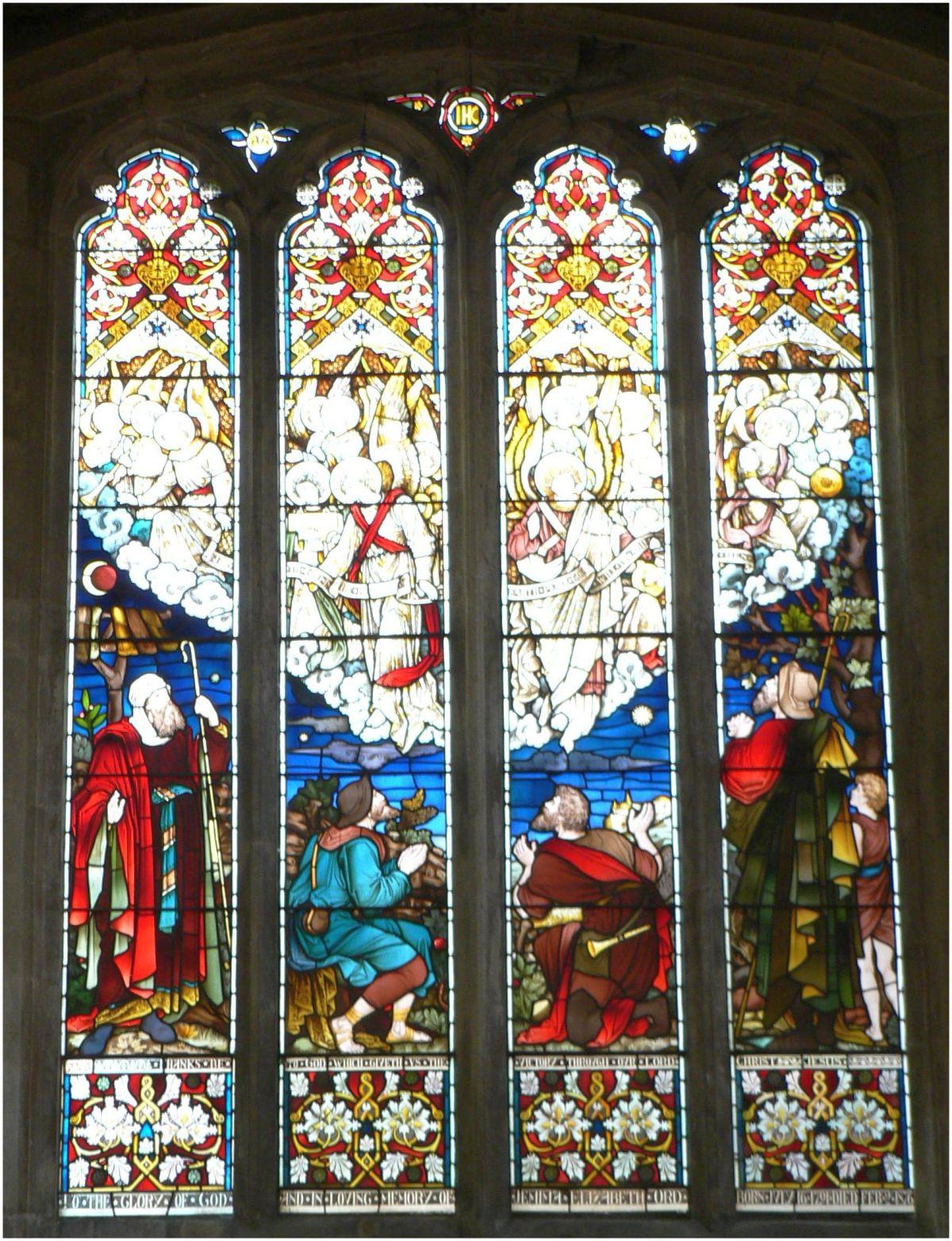 St Peter's Church, Shepherd's Window