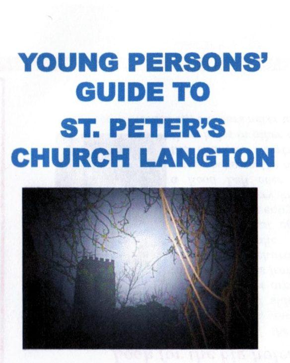 Young Person's Guide - St Peter's Church, Church Langton, Front cover